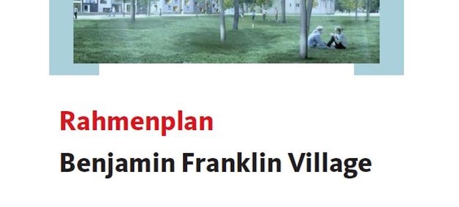 Entwicklung der Benjamin Franklin Village steht