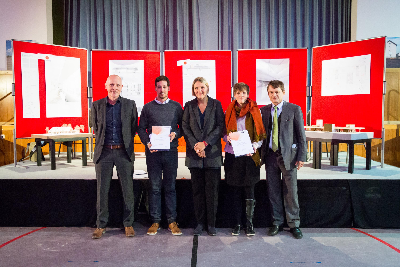 Preisverleihung für Architekturstudenten (Foto: Andreas Henn)