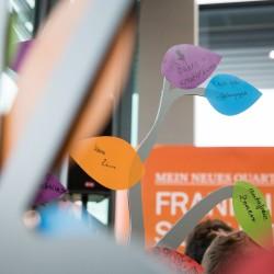 Interaktiver FRANKLIN Baum (Foto: Andreas Henn)