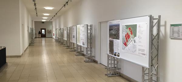 Ausstellung Wettbewerb Offizierssiedlung