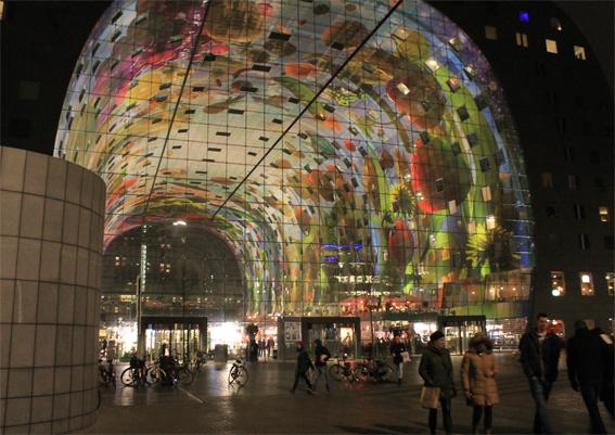 Die Markthalle in Rotterdam