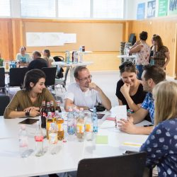 Besucher sammeln ihre Ideen, Foto: Maria Schumann