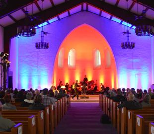 Mannheimer Philharmoniker in der Kirche (Foto:xmedias)