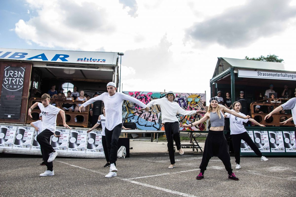 Hip Hop Kultur auf FRANKLIN: das Urban Streets Camp 2018 - FRANKLIN ...