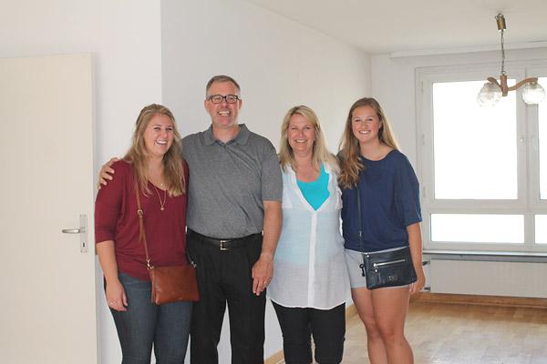 Mister Underhill mit seiner Familie