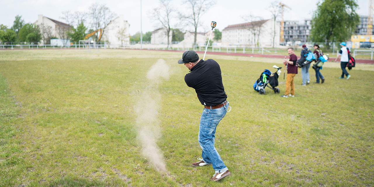 Crossgolfer auf FRANKLIN (Foto: Andreas Henn)