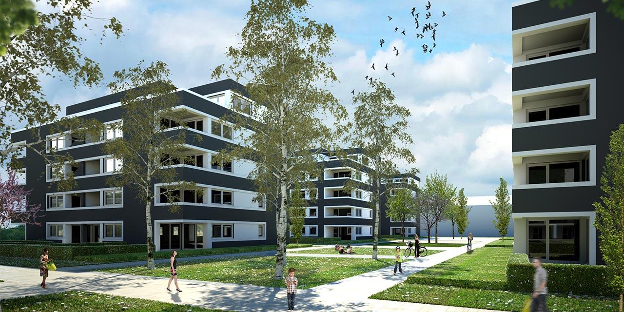 Visualisierung MWB - Fischer Architekten GmbH