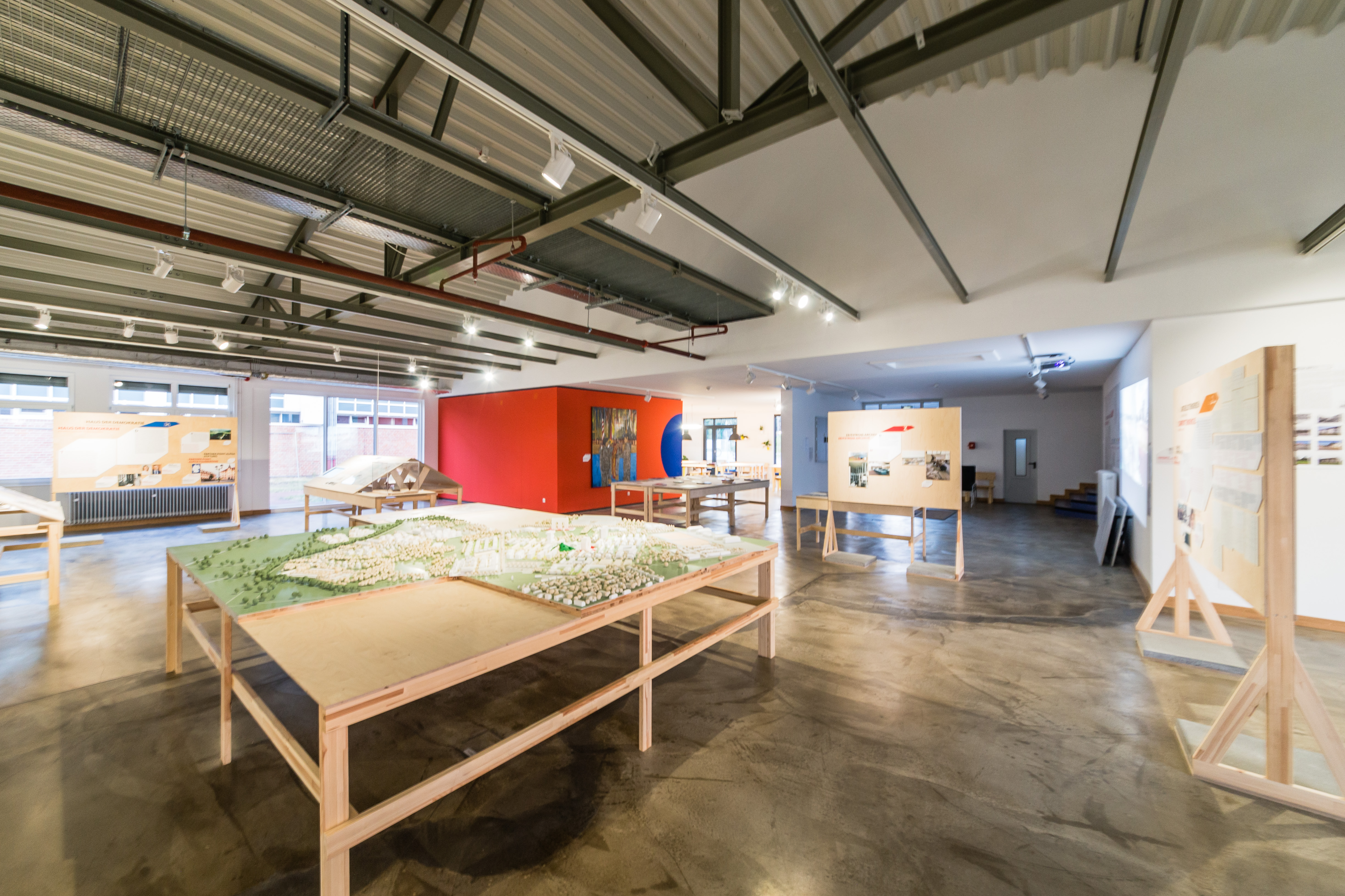 Ausstellungsfläche (Kristof Lemp)